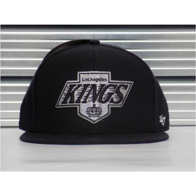 '47 NHL Los Angeles Kings Team Logo Fitted Cap