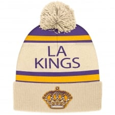 NHL Los Angeles Kings Vintage Cuffed Pom Knit