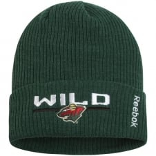 NHL Minnesota Wild Center Ice Locker Room Cuffed Knit