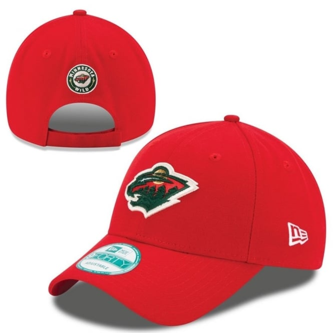 New Era NHL Minnesota Wild The League 9Forty Adjustable Cap