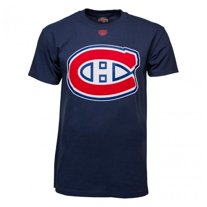 Old Time Hockey NHL Montreal Canadiens Blue Youth Onside T-Shirt
