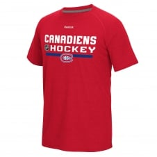 NHL Montreal Canadiens Center Ice Locker Room T-Shirt