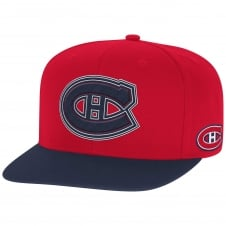 NHL Montreal Canadiens Face Off Two Tone Snapback Cap