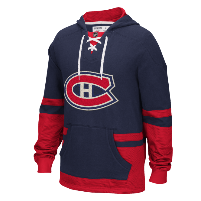 CCM NHL Montreal Canadiens Pullover Hood