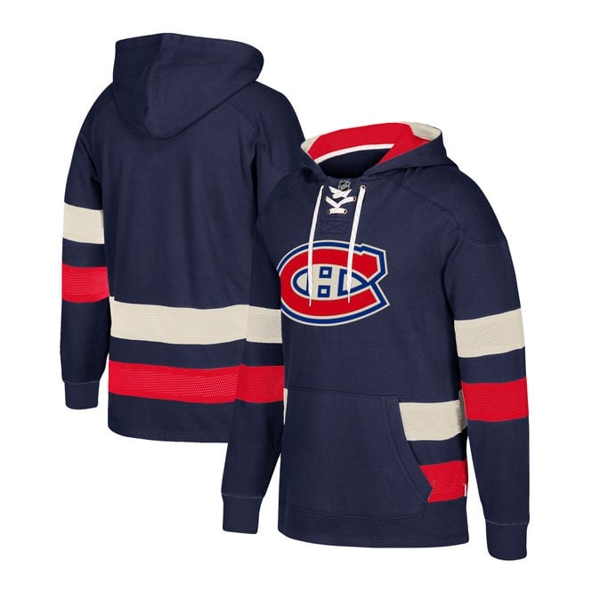 CCM NHL Montreal Canadiens Pullover Jersey Hood