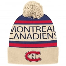 NHL Montreal Canadiens Vintage Cuffed Pom Knit