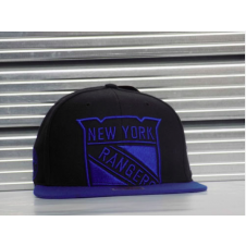 NHL New York Rangers 2 Tone Blackout Snapback