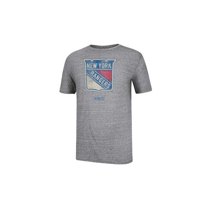 CCM NHL New York Rangers Bigger Logo T-Shirt