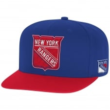 NHL New York Rangers Face Off Two Tone Snapback Cap