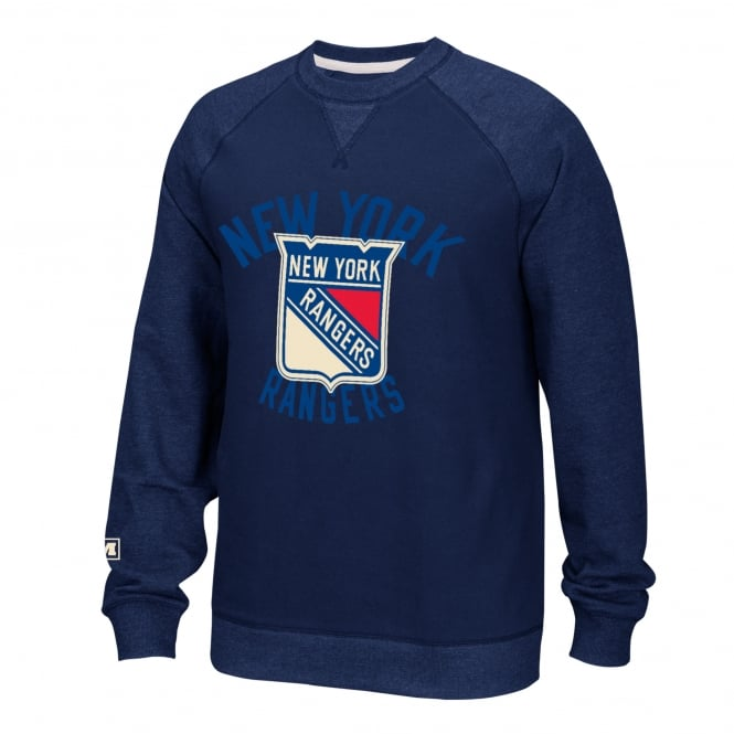 CCM NHL New York Rangers Fleece Crew