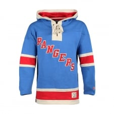 NHL New York Rangers Henrik Lundqvist Name & No. Lace Jersey Hood