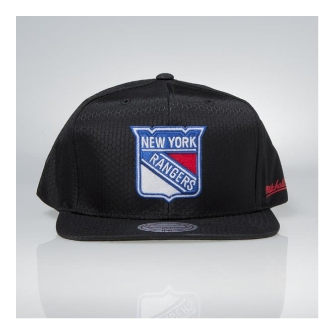 Mitchell & Ness NHL New York Rangers Ripstop Honeycomb Snapback