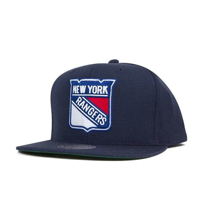 Mitchell & Ness NHL New York Rangers Wool Solid Snapback