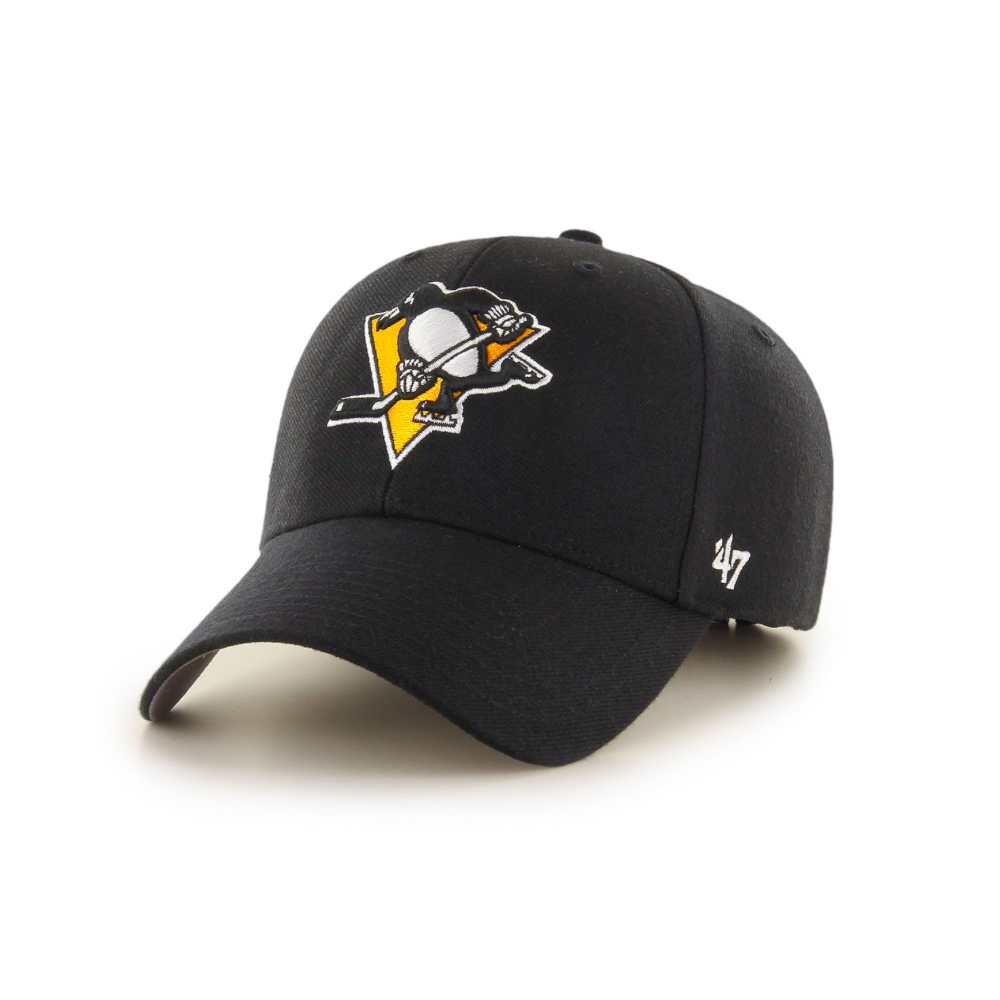 2e4a82665 47 NHL Pittsburgh Penguins '47 MVP Cap - Headwear from USA Sports UK
