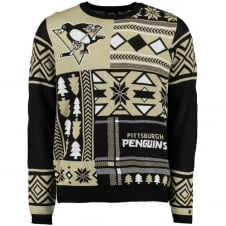 NHL Pittsburgh Penguins Alternate Patches Ugly Sweater