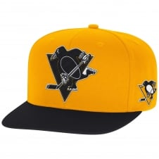 NHL Pittsburgh Penguins Face Off Two Tone Snapback Cap