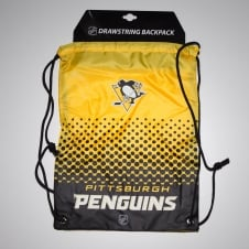 NHL Pittsburgh Penguins Fade Drawstring Backpack