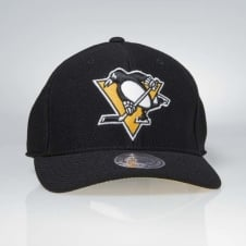 NHL Pittsburgh Penguins Hexagon Jersey Mesh Strapback