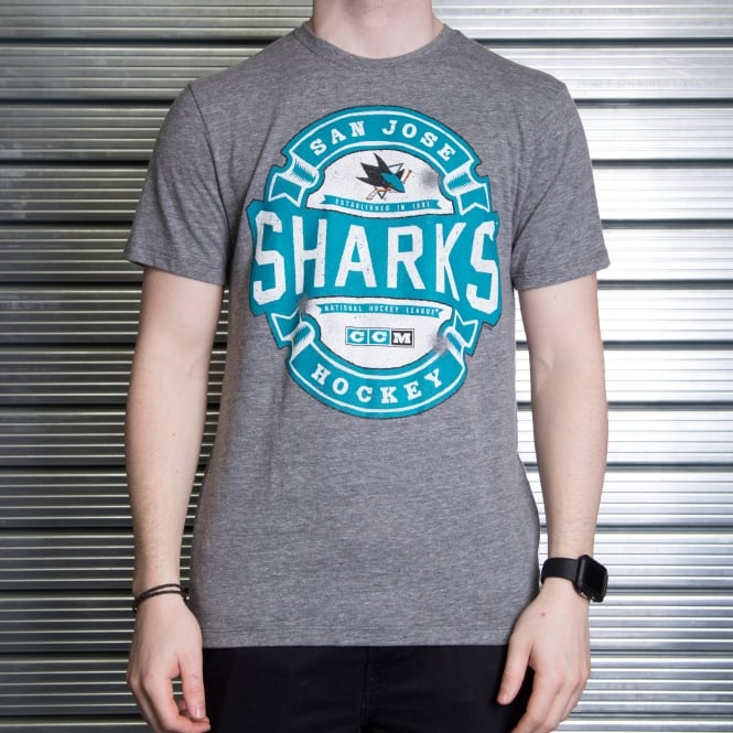 Reebok NHL San Jose Sharks Game Tested T-Shirt