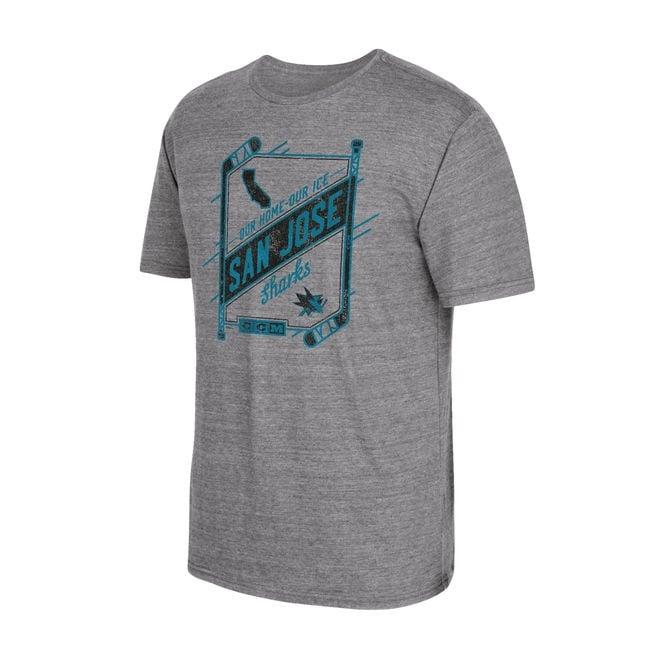 CCM NHL San Jose Sharks Our Home Our Ice T-Shirt