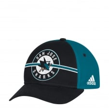 NHL San Jose Sharks Structured Adjustable Cap