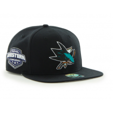 NHL San Jose Sharks Sure Shot Captain Snapback