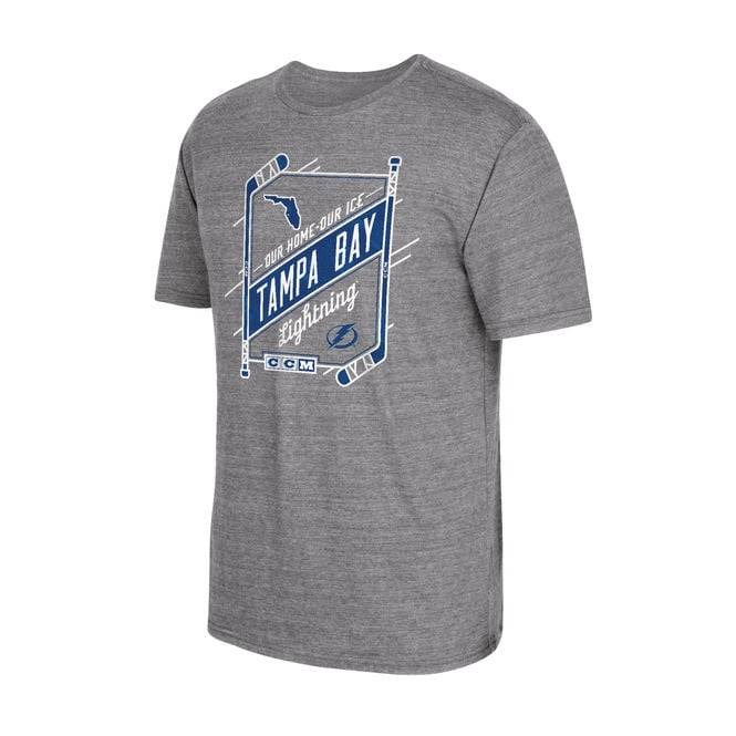 CCM NHL Tampa Bay Lightning Our Home Our Ice T-Shirt