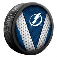 NHL Tampa Bay Lightning Shadow/Stitch Hockey Puck
