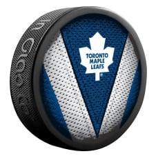 NHL Toronto Maple Leafs Shadow/Stitch Hockey Puck