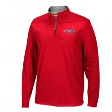 NHL Washington Capitals Center Ice 1/4 Zip Top