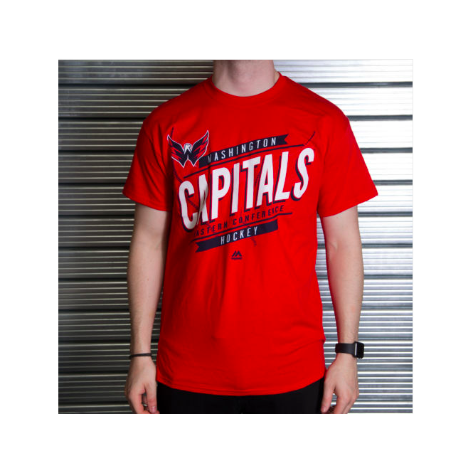 Majestic Athletic NHL Washington Capitals Earn Each Play T-Shirt