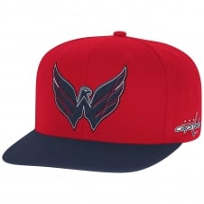 NHL Washington Capitals Face Off Two Tone Snapback Cap