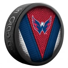 NHL Washington Capitals Shadow/Stitch Hockey Puck