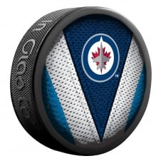 NHL Winnipeg Jets Shadow/Stitch Hockey Puck