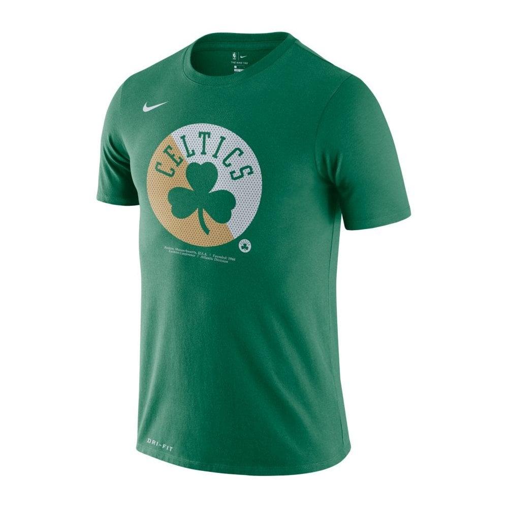 best service d4f91 401a9 NBA Boston Celtics Bold Logo Dri-Fit T-Shirt