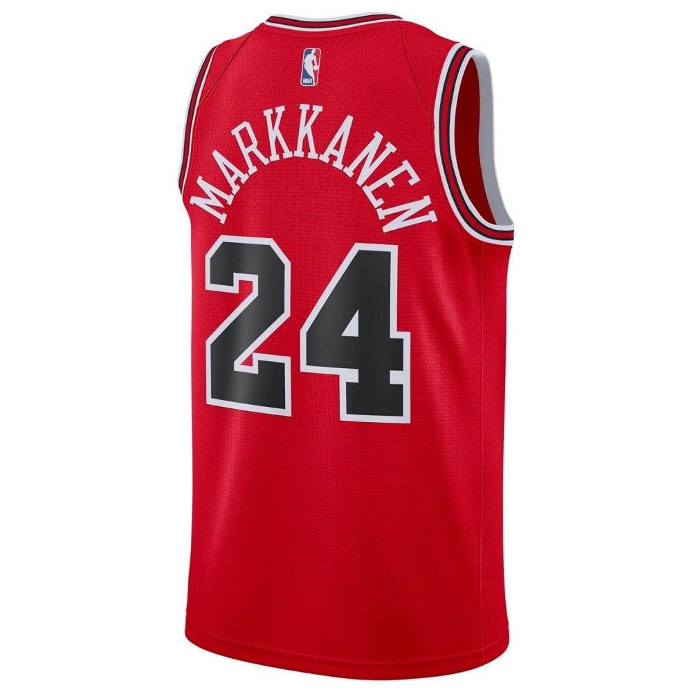 super cute 14e48 219f1 NBA Chicago Bulls Lauri Markkanen Swingman Jersey - Icon Edition