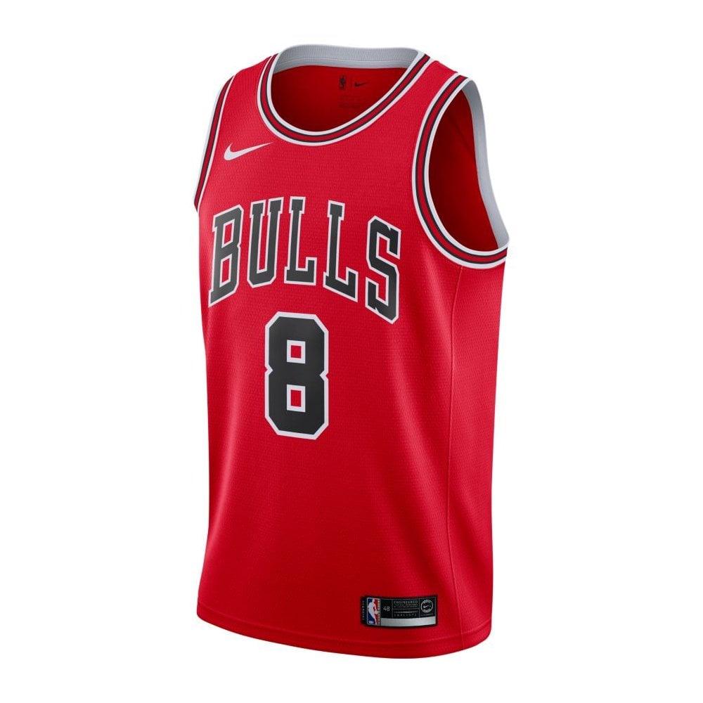 62920dadd55 Nike NBA Chicago Bulls Zach Lavine Swingman Jersey - Icon Edition ...