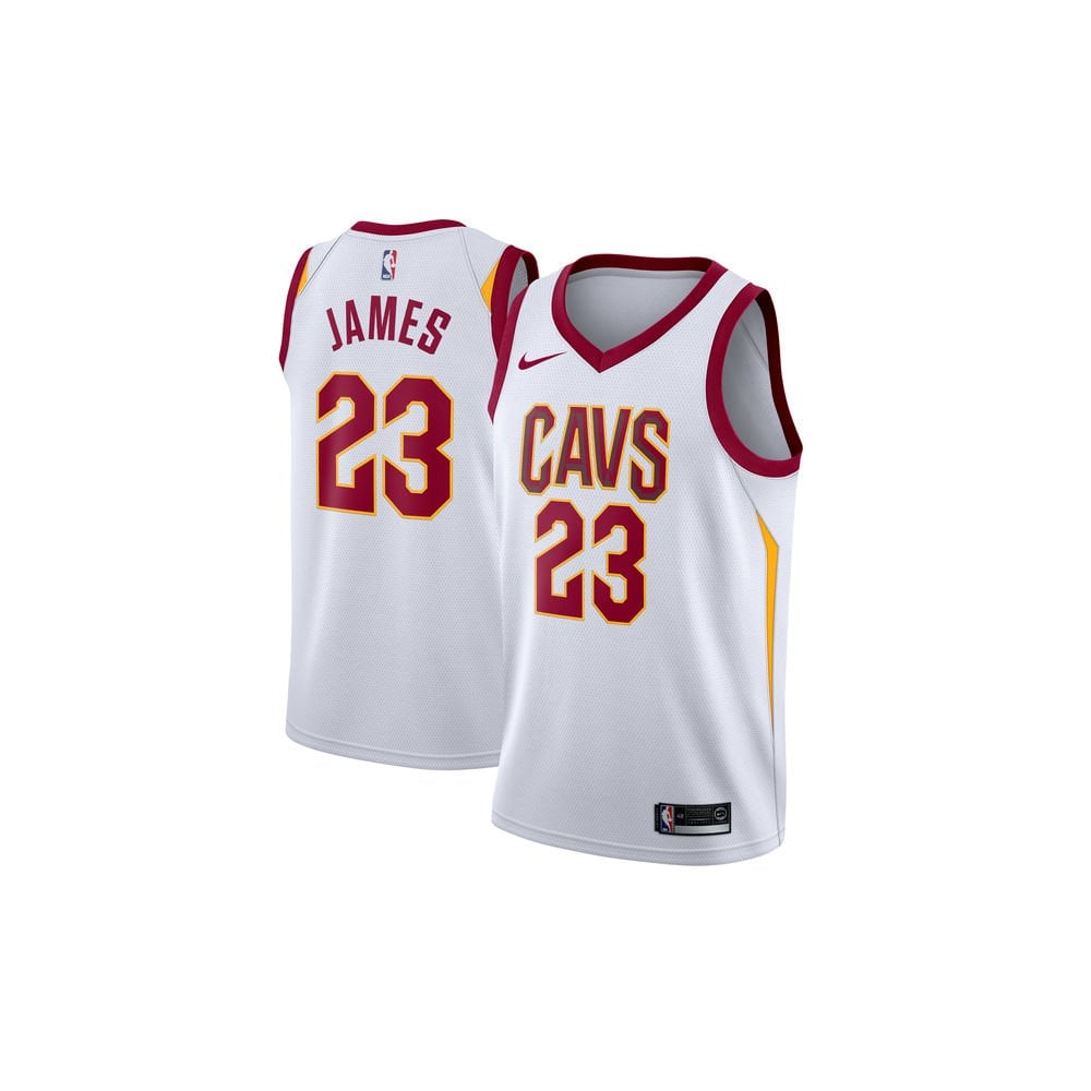 premium selection c6a3d 3ab46 NBA Cleveland Cavaliers LeBron James Swingman Jersey - Association Edition