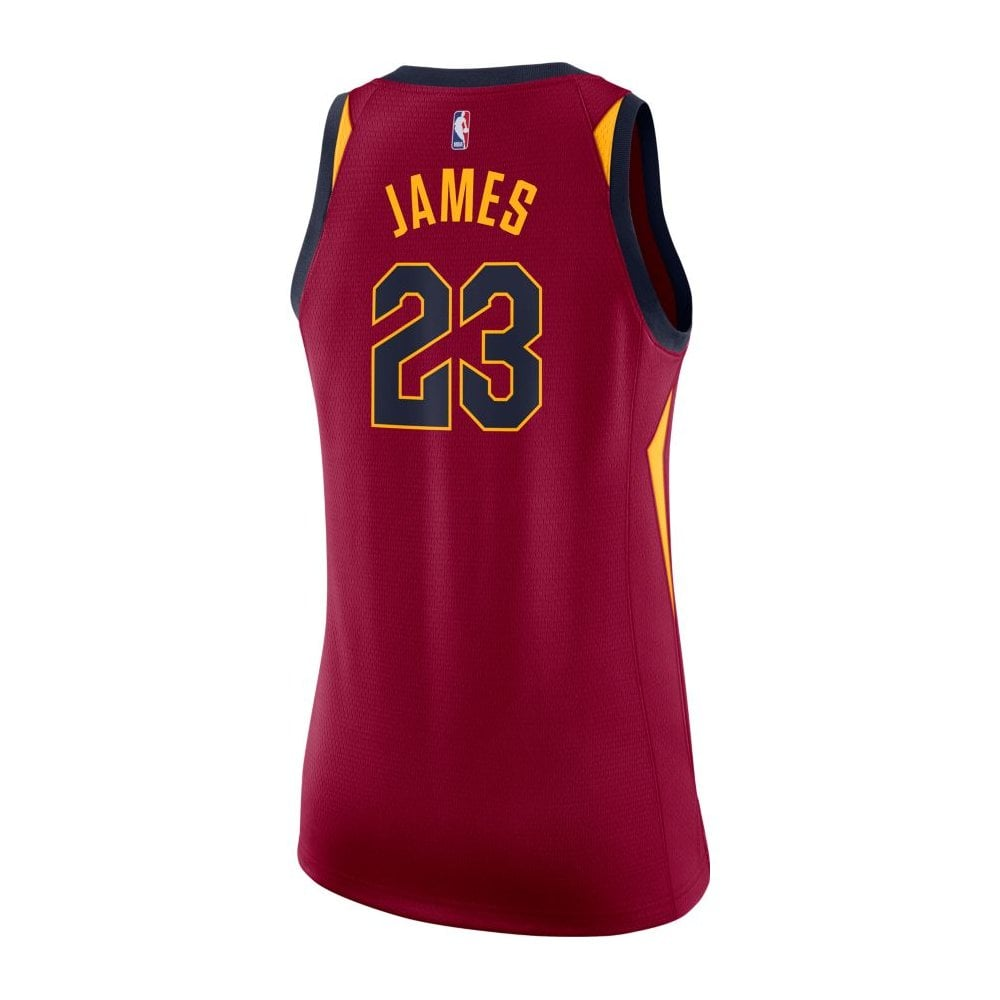 quality design cda9a aaaf2 NBA Cleveland Cavaliers LeBron James Swingman Women's Jersey - Icon Edition