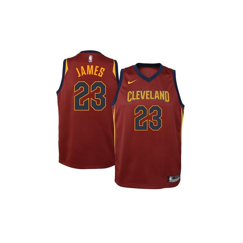newest fbe36 7659b NBA Cleveland Cavaliers LeBron James Youth Swingman Jersey - Icon Edition