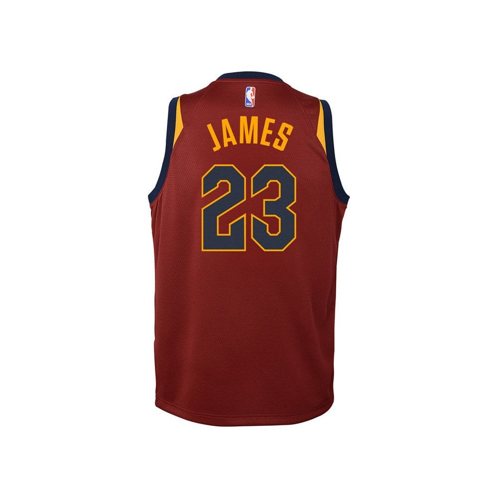newest 6e008 7c3ee NBA Cleveland Cavaliers LeBron James Youth Swingman Jersey - Icon Edition