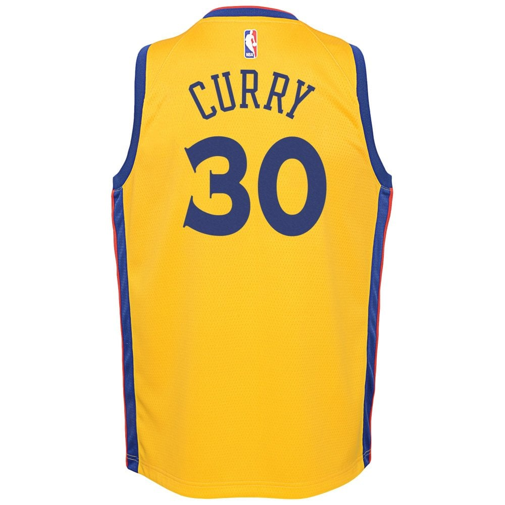 quality design 48c39 af745 NBA Golden State Warriors Stephen Curry Youth Swingman Jersey - City Edition