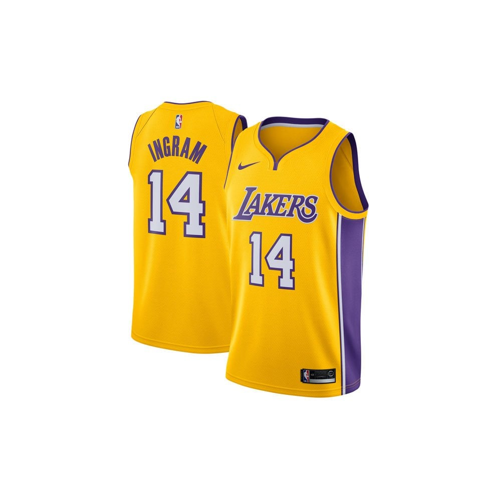 Nike NBA Los Angeles Lakers Brandon Ingram Swingman Jersey - Icon ... 4b31d21d5