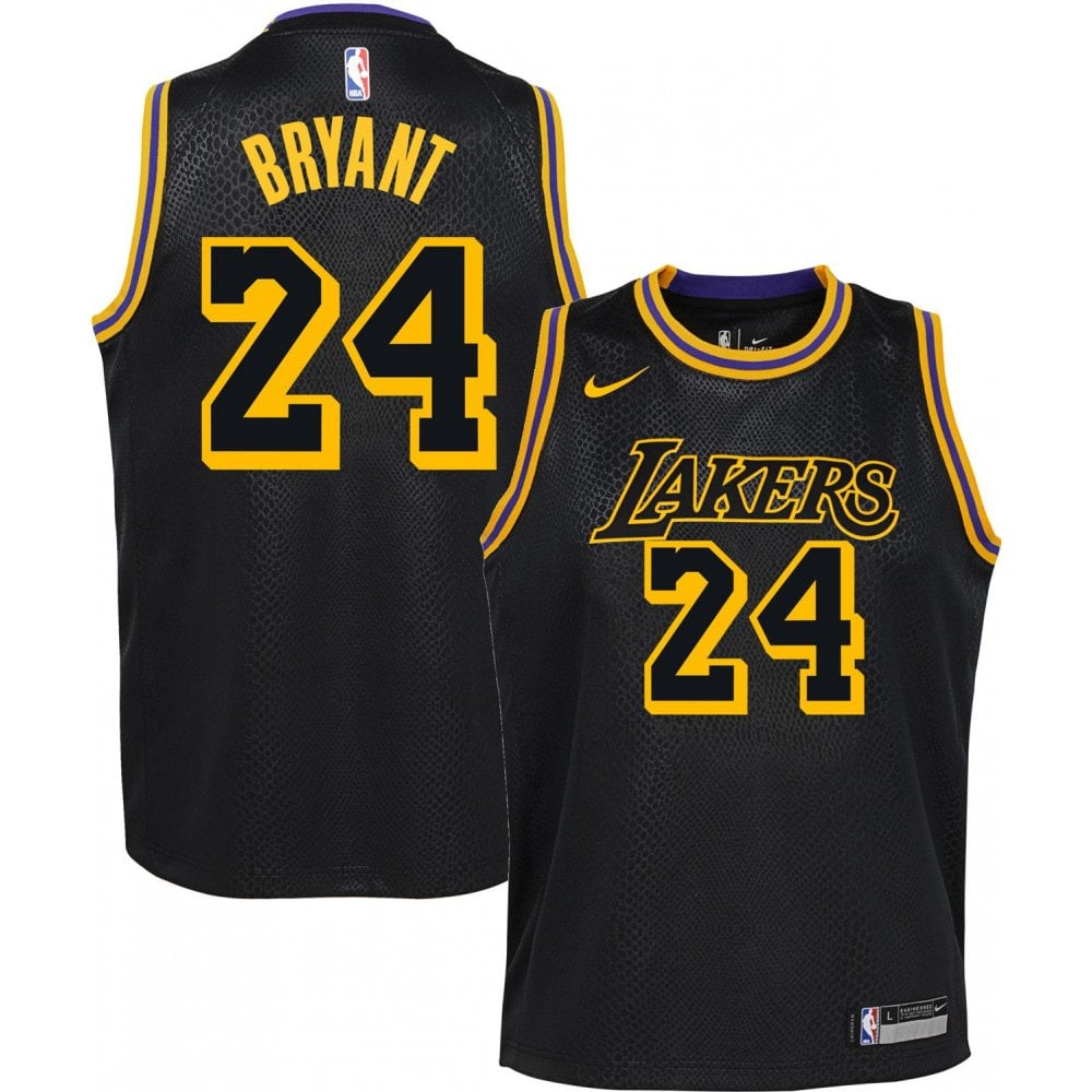wholesale dealer c765a 1639e NBA Los Angeles Lakers Kobe Bryant Youth Swingman Jersey - City Edition