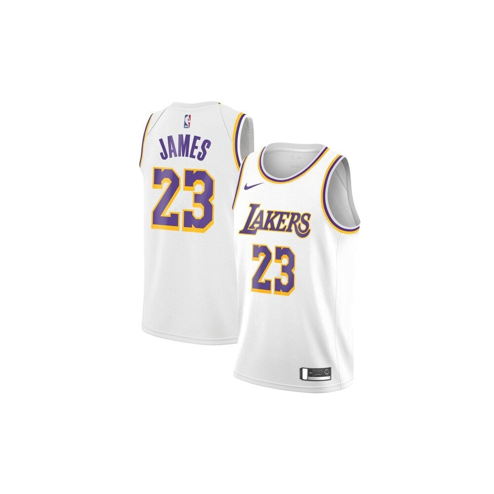 official photos b3ac9 2b0f2 NBA Los Angeles Lakers LeBron James Swingman Jersey - Association Edition