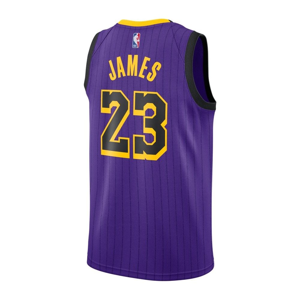 low priced fbab4 51586 NBA Los Angeles Lakers LeBron James Swingman Jersey - City Edition