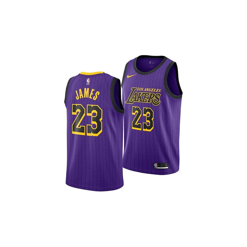 low priced 124bf 53ce6 NBA Los Angeles Lakers LeBron James Swingman Jersey - City Edition