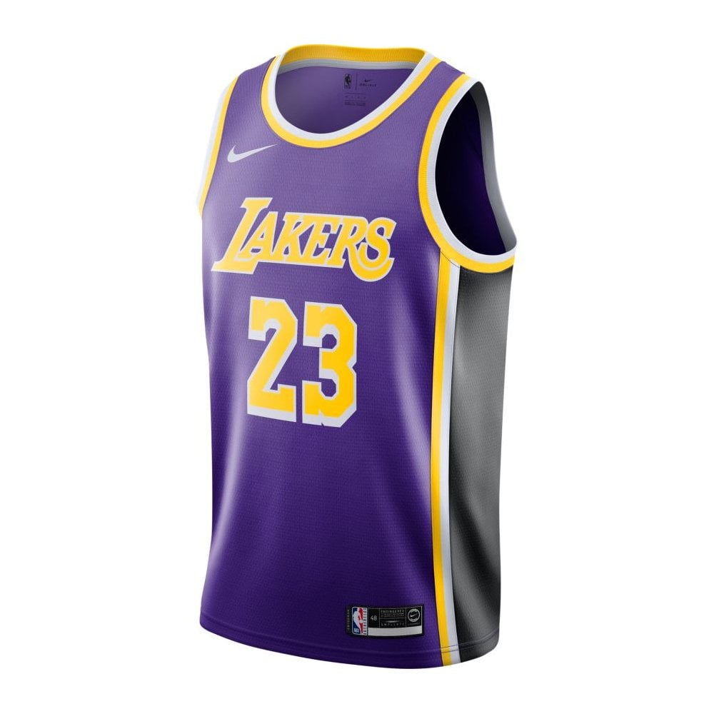 timeless design 3f3fa 1a2fa NBA Los Angeles Lakers LeBron James Swingman Jersey - Statement Edition