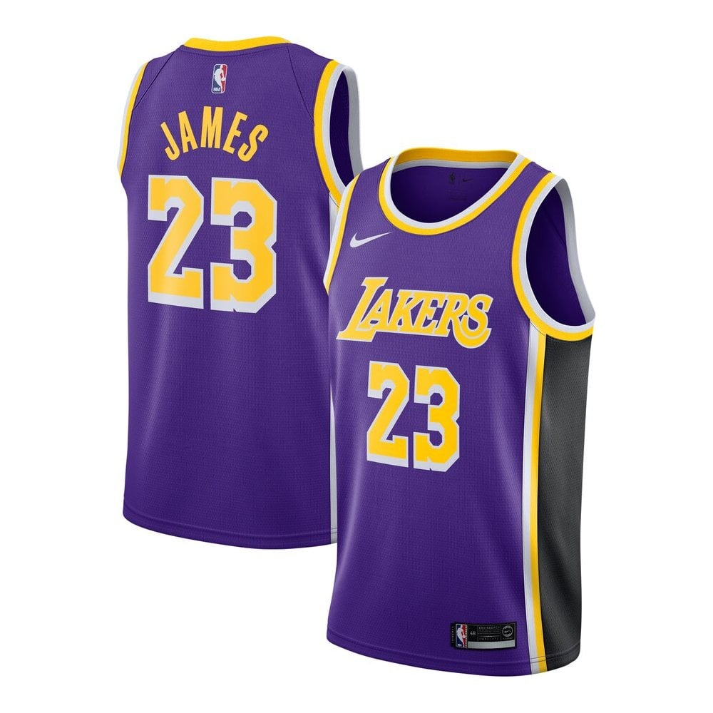 timeless design a2726 76c09 NBA Los Angeles Lakers LeBron James Swingman Jersey - Statement Edition