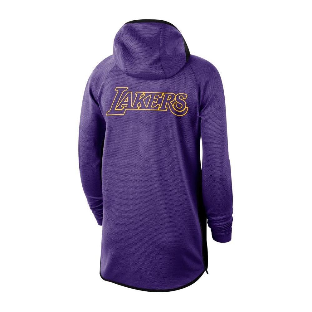 hot sale online 09263 6205e NBA Los Angeles Lakers Therma Flex Showtime Hood